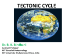 tectonic cycle