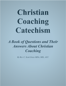 Christian Coaching Catechism.pages