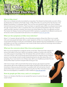Facts About Zika Virus