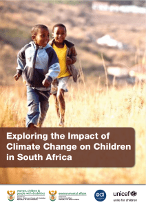 Exploring the Impact of Climate Change on Children in