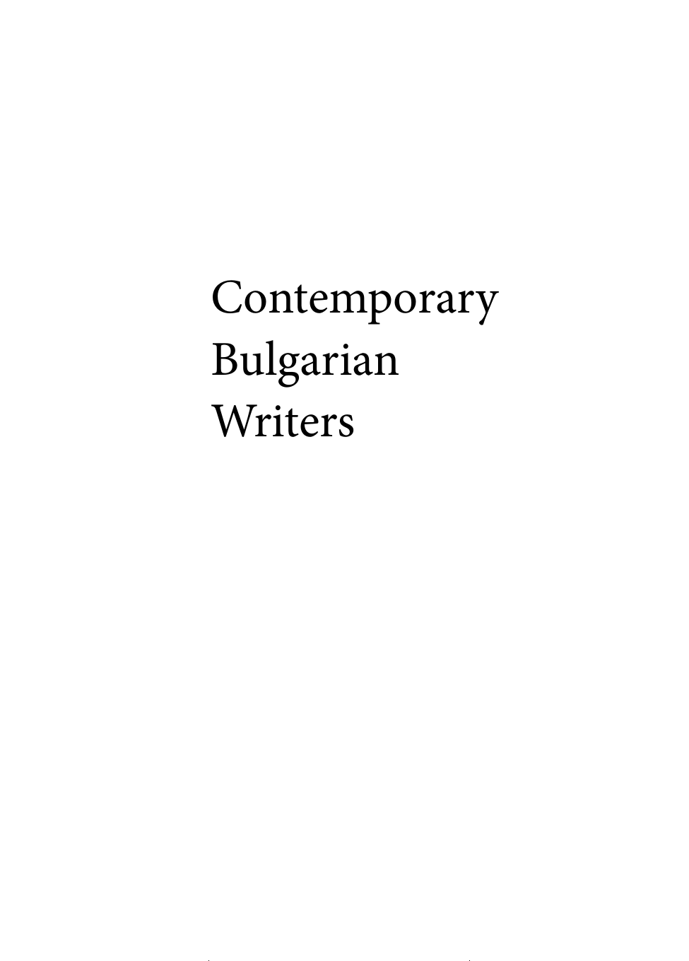 Catalogue CBW