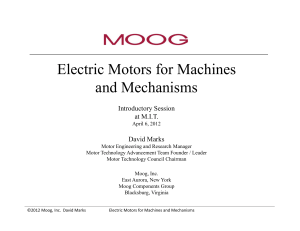 Electric Motors for Machines and Mechanisms - Fab Central