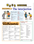 The interjection - Sunday Observer Online