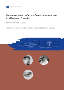 Harassment related to Sex and Sexual Harassment Law in 33