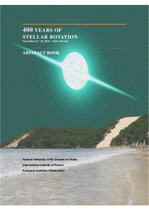 400 YEARS OF STELLAR ROTATION - DFTE