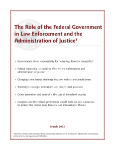 role of feds.pmd - National Governors Association