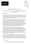 Global Wind Energy Council