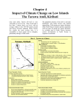 Chapter 4 Impact of Climate Change on Low Islands The Tarawa