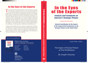In the Eyes of the Experts