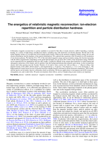 The energetics of relativistic magnetic reconnection: ion