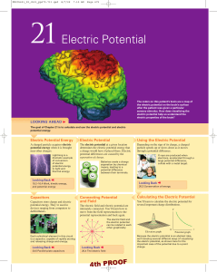 Electric Potential - Little Shop of Physics