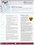 PSHSA Fast Facts - Radon – Bill 11 Update