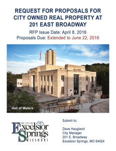 Click for - City of Excelsior Springs