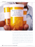 Physicians` liability for off-label prescriptions