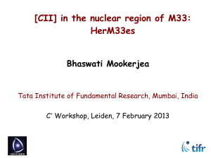[CII] in the nuclear region of M33: HerM33es