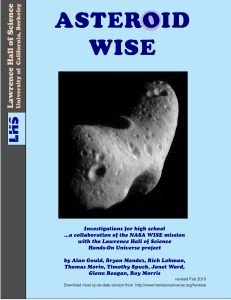asteroid wise - Lawrence Hall of Science
