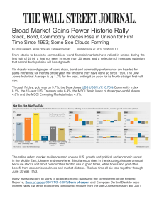Broad Market Gains Power Historic Rally