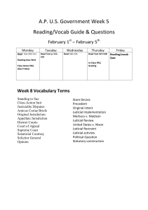 Week 5 Reading and Vocab Sheet 2nd Semester