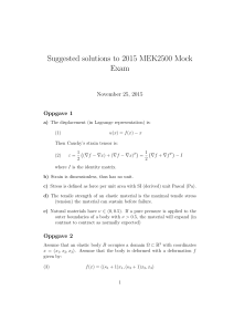 Suggested solutions to 2015 MEK2500 Mock Exam