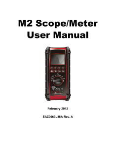 M2 User Manual - Snap-on