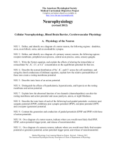 Neurophysiology - American Physiological Society