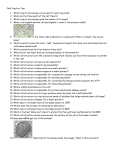 Cells Practice Test Questions