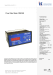 Flow Rate Meter DMZ-8E