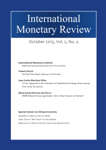 International Monetary Review