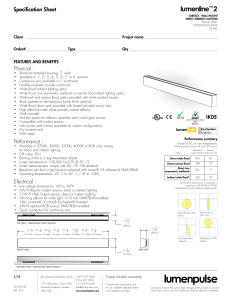 Specification Sheet PDF