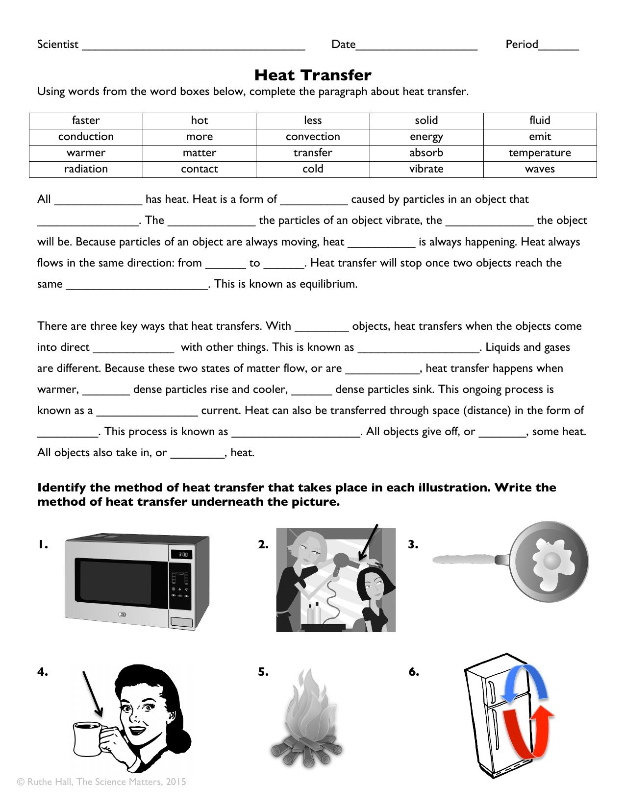 Heat Transfer - Granville County Public Schools