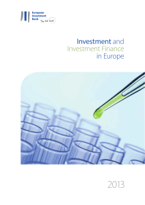 Investment and Investment Finance in Europe