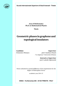 Geometric phases in graphene and topological insulators