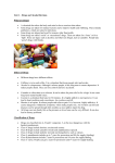 Unit 1 – Drugs and Alcohol Revision What are drugs? • A chemical