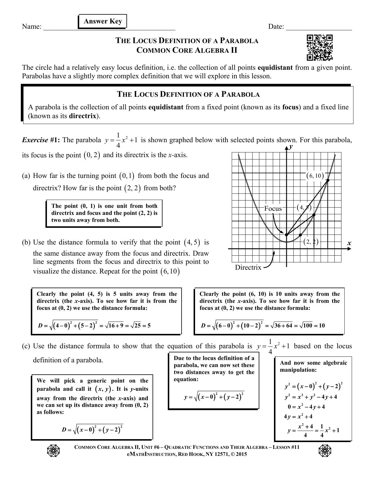 Unit 8 Quadratic Equations Homework 10 Word Problems ...