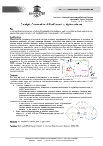 VG-Catalytic Conversion of Bio