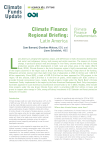 Climate Finance Regional Briefing