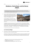Gladiators, Chariot Races, and the Roman Games