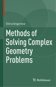 6. Methods of Solving Complex Geometry Problems by Ellina