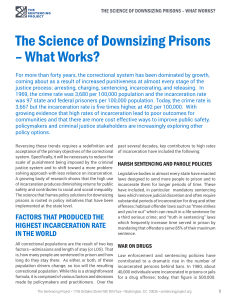The Science of Downsizing Prisons – What
