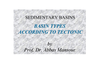 BASIN TYPES ACCORDING TO TECTONIC by Prof. Dr. Abbas