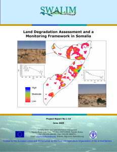 L-14 Land Degradation and a Monitoring Framework in