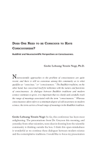 Neuroscientific approaches to the problem of consciousness are