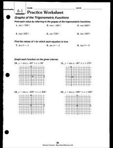 Trigonometry - studyres.com