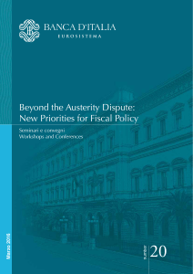 No. 20 - Beyond the Austerity Dispute: New Priorities for Fiscal Policy