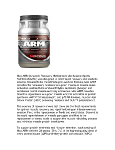 Max ARM (Anabolic Recovery Matrix) from Max Muscle Sports