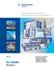Leading Networking Solutions for Industrial