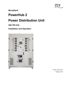 PowerHub 2 Power Distribution Unit