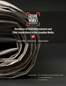Narratives of Child Maltreatment and Child Sexual Abuse in the