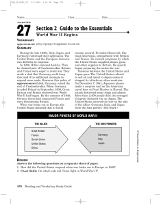 Section 2 Guide to the Essentials