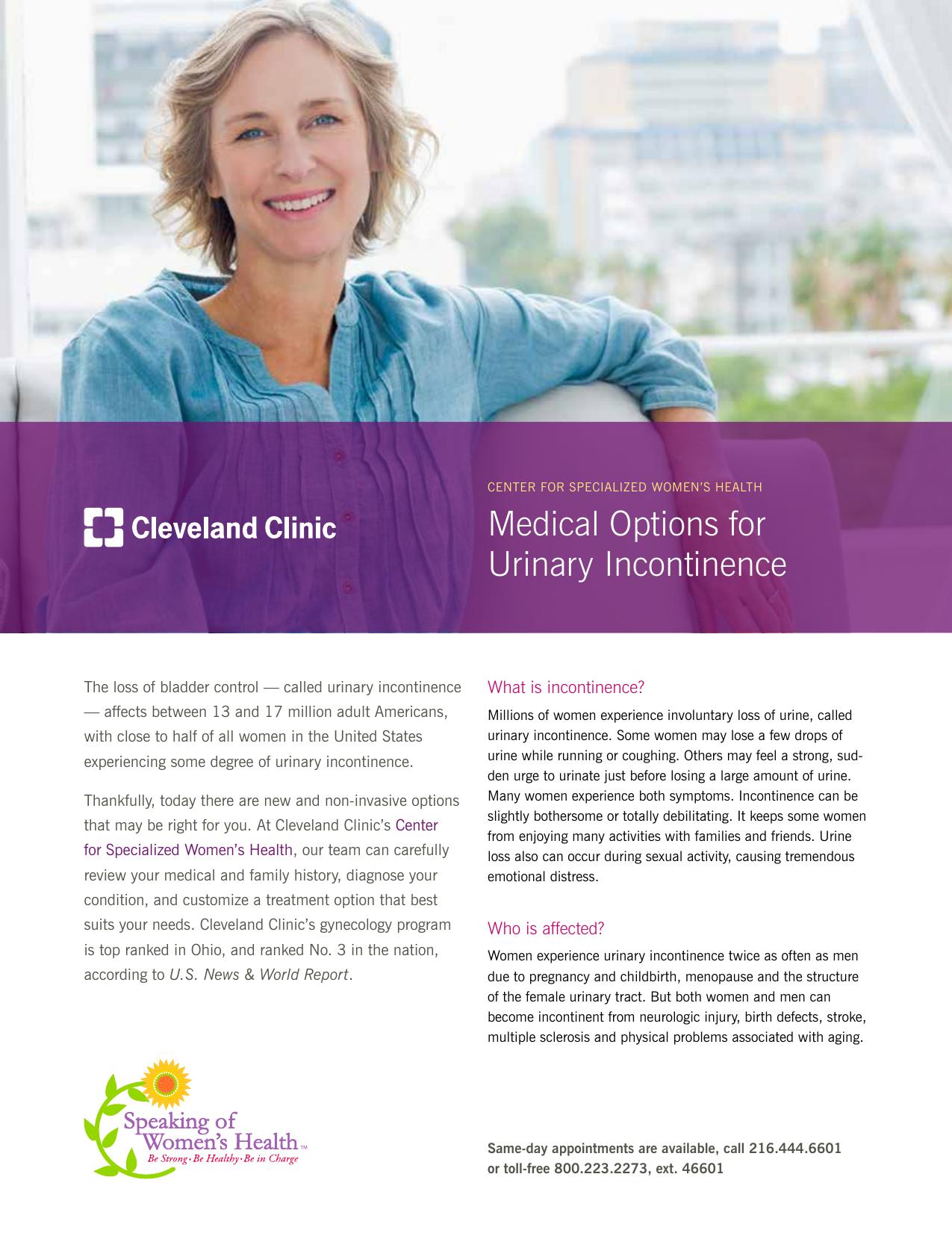 Medical Management of Urinary